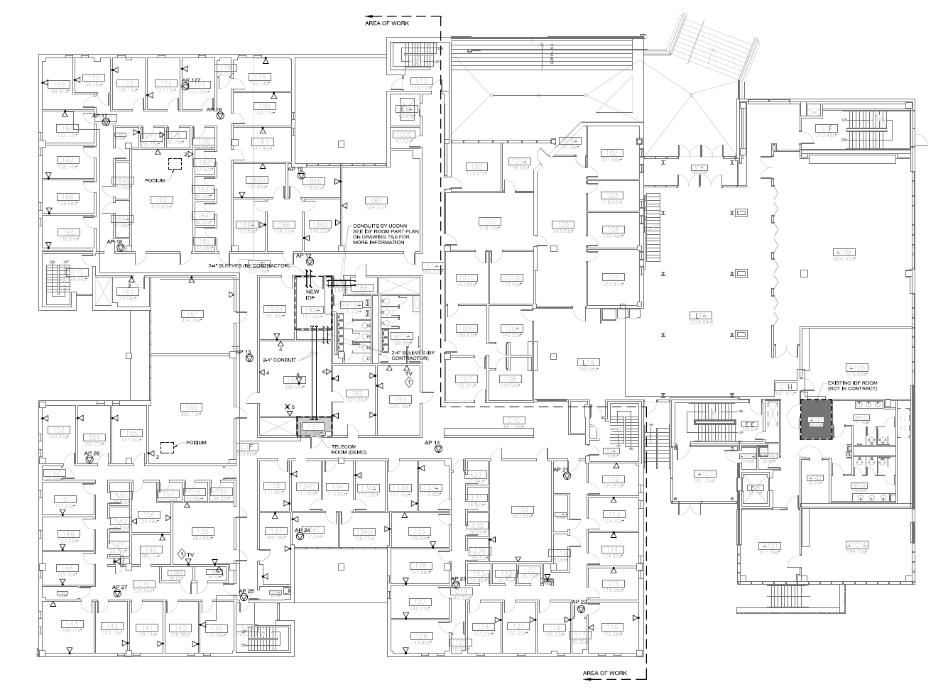 Bousfield Building Plans During Wiring Renovation Psychological A First Floor Plan