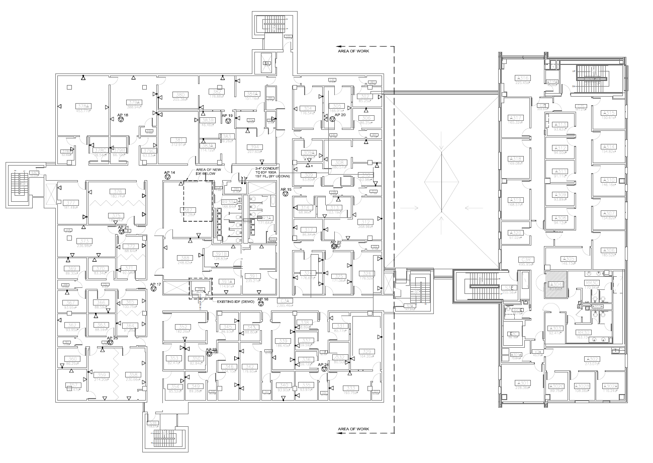 Bousfield Building Plans During Wiring Renovation Psychological Home Floor Third Plan
